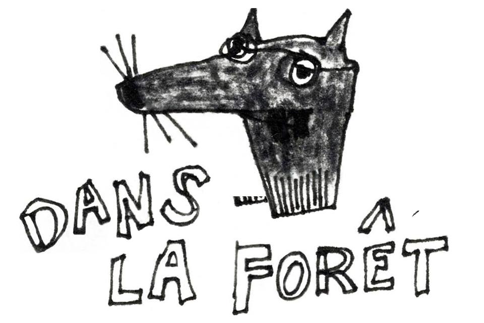 Logo Loup Dans La Fôret